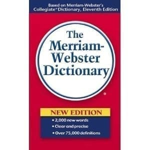 Dictionary websters pocket