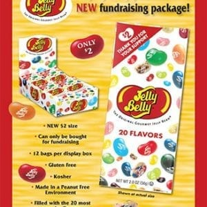 Jelly Belly Fundraiser Sales Box