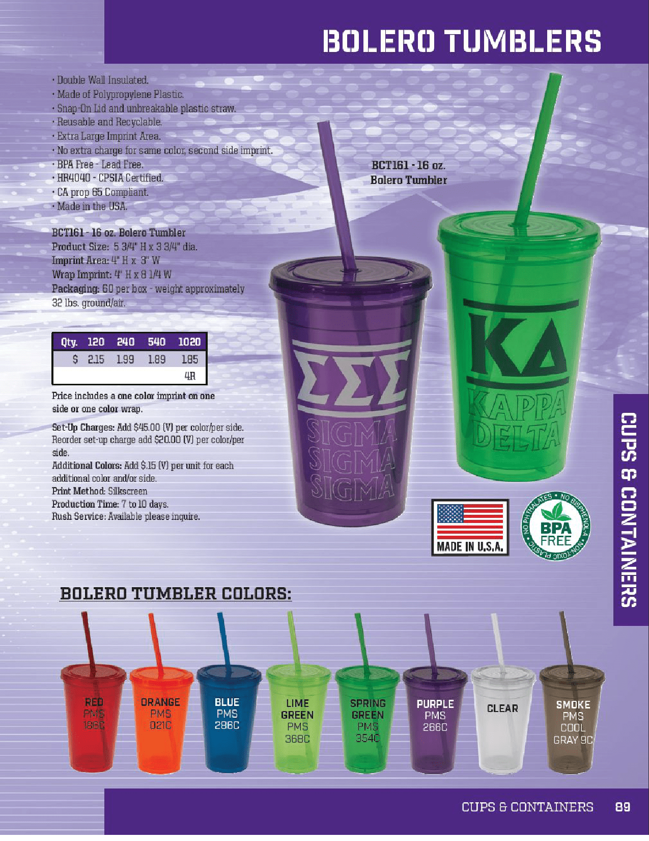School Spirit Fundraiser items