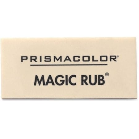 Eraser white magic rub