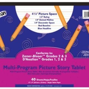 Story Tablet, Multi Method PACON 2484