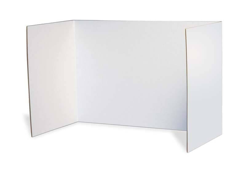 Classroom Desktop Privacy Screen Carel, Pack of 25