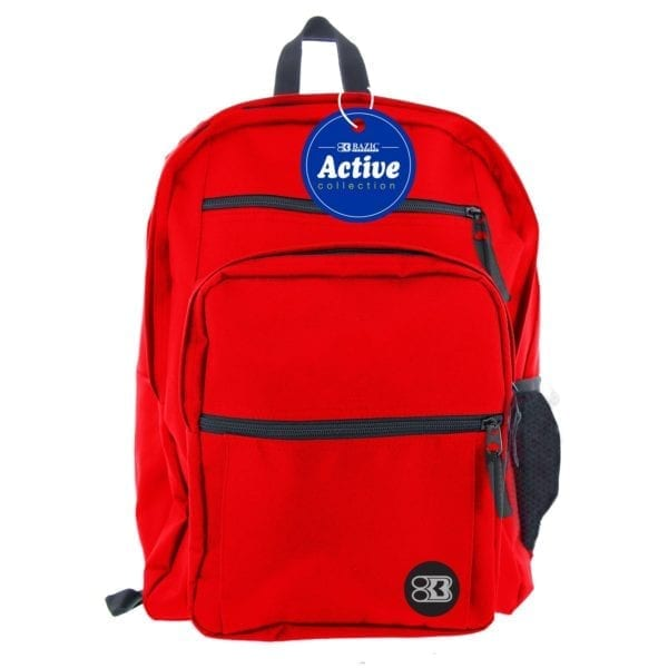 """backpack active 17"""" student middle school high school college"""