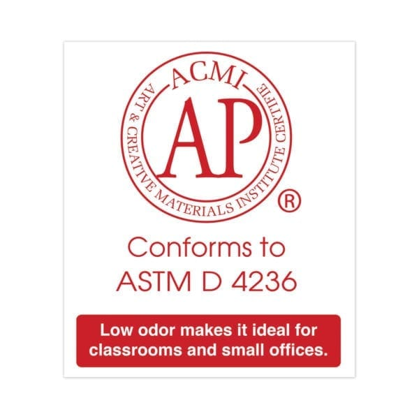 ap certified conforms to ASTM D 4236