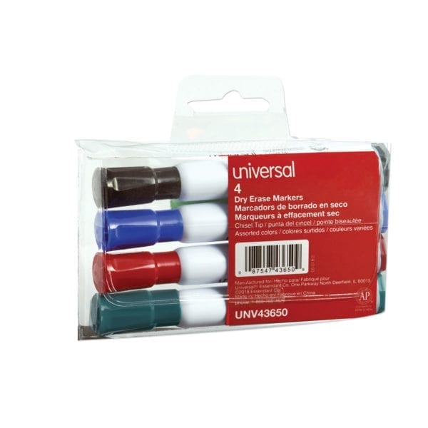 dry erase markers 4 pack universal